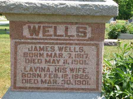 WELLS, LAVINA - Union County, Ohio   LAVINA WELLS - Ohio Gravestone Photos