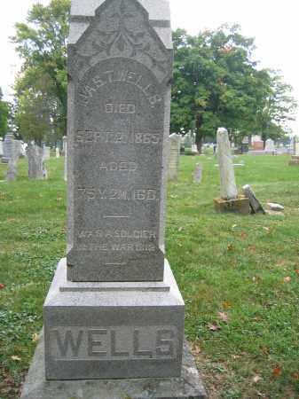 WELLS, JAS. T. - Union County, Ohio | JAS. T. WELLS - Ohio Gravestone Photos