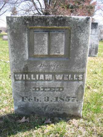 WELLS, ABEY A. - Union County, Ohio | ABEY A. WELLS - Ohio Gravestone Photos