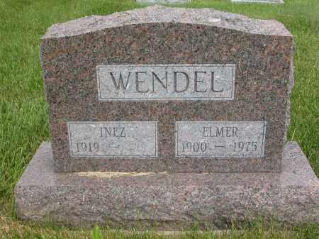 WENDEL, INEZ - Union County, Ohio   INEZ WENDEL - Ohio Gravestone Photos