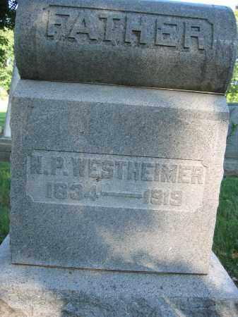 WESTHEIMER, NATHAN P. - Union County, Ohio | NATHAN P. WESTHEIMER - Ohio Gravestone Photos