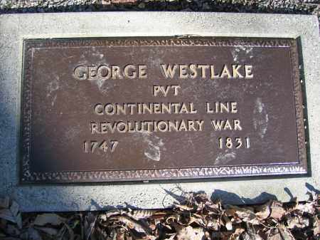 WESTLAKE, GEORGE - Union County, Ohio   GEORGE WESTLAKE - Ohio Gravestone Photos