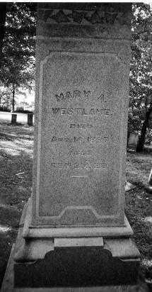 WESTLAKE, MARY A. - Union County, Ohio | MARY A. WESTLAKE - Ohio Gravestone Photos