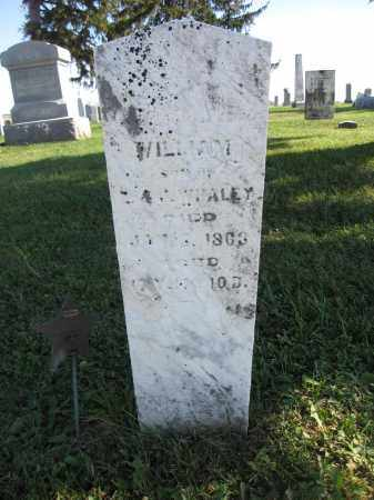WHALEY, WILLIAM - Union County, Ohio | WILLIAM WHALEY - Ohio Gravestone Photos