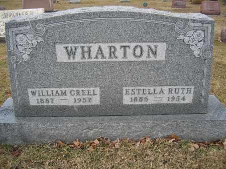 WHARTON, ESTELLA RUTH - Union County, Ohio   ESTELLA RUTH WHARTON - Ohio Gravestone Photos