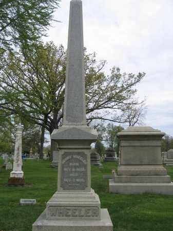 WHEELER, CARRIE A. GREGG - Union County, Ohio | CARRIE A. GREGG WHEELER - Ohio Gravestone Photos