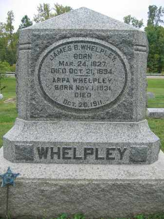 WHELPLEY, ARPA - Union County, Ohio | ARPA WHELPLEY - Ohio Gravestone Photos