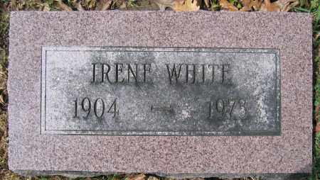 WHITE, IRENE - Union County, Ohio | IRENE WHITE - Ohio Gravestone Photos