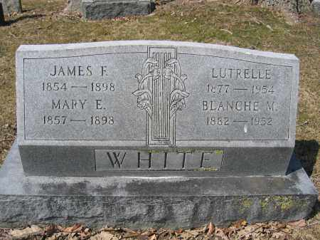 WHITE, MARY E. - Union County, Ohio | MARY E. WHITE - Ohio Gravestone Photos