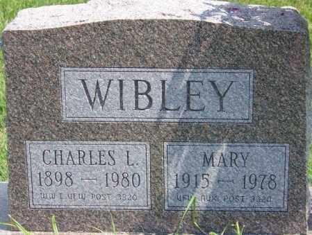 WIBLEY, MARY - Union County, Ohio | MARY WIBLEY - Ohio Gravestone Photos
