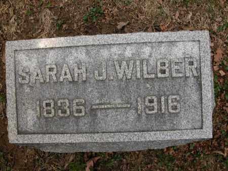 WILBER, SARAH J. - Union County, Ohio | SARAH J. WILBER - Ohio Gravestone Photos
