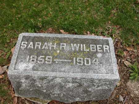 WILBER, SARAH R. - Union County, Ohio | SARAH R. WILBER - Ohio Gravestone Photos