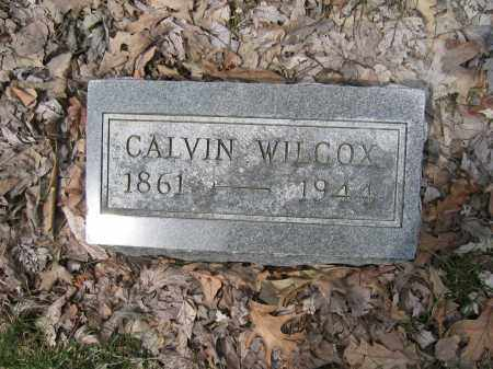 WILCOX, CALVIN - Union County, Ohio | CALVIN WILCOX - Ohio Gravestone Photos