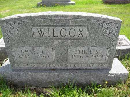 WILCOX, ETHEL M. - Union County, Ohio   ETHEL M. WILCOX - Ohio Gravestone Photos