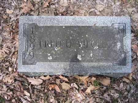 WILCOX, FRED O. - Union County, Ohio | FRED O. WILCOX - Ohio Gravestone Photos