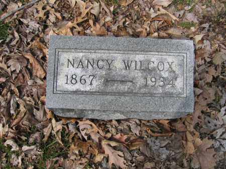 WILCOX, NANCY - Union County, Ohio | NANCY WILCOX - Ohio Gravestone Photos
