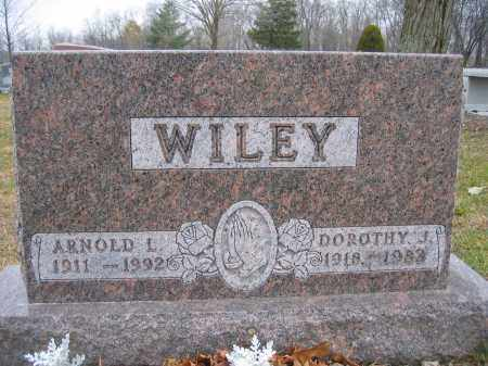 WILEY, ARNOLD L. - Union County, Ohio | ARNOLD L. WILEY - Ohio Gravestone Photos
