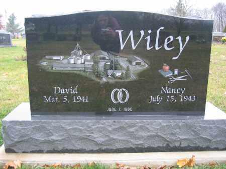 WILEY, NANCY - Union County, Ohio | NANCY WILEY - Ohio Gravestone Photos