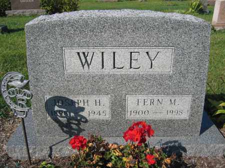 WILEY, JOSEPH H. - Union County, Ohio | JOSEPH H. WILEY - Ohio Gravestone Photos
