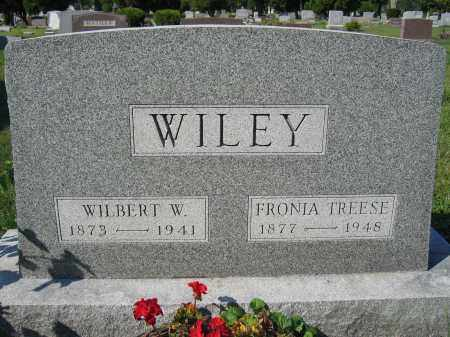 WILEY, FRONIA TREESE - Union County, Ohio   FRONIA TREESE WILEY - Ohio Gravestone Photos