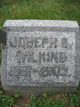 WILKINS, JOSEPH S. - Union County, Ohio | JOSEPH S. WILKINS - Ohio Gravestone Photos