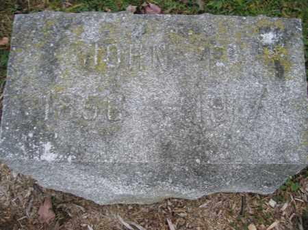 WILKINS, JOHN P. - Union County, Ohio   JOHN P. WILKINS - Ohio Gravestone Photos
