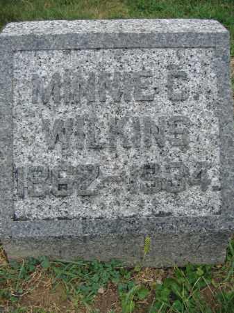 WILKINS, MINNIE C. - Union County, Ohio | MINNIE C. WILKINS - Ohio Gravestone Photos