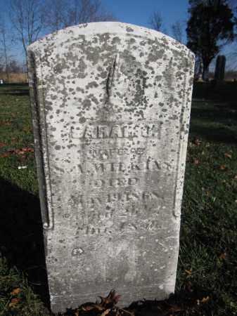 WILKINS, SARAH J. - Union County, Ohio | SARAH J. WILKINS - Ohio Gravestone Photos