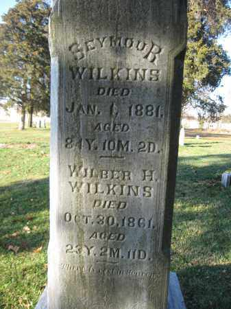 WILKINS, SEYMOUR - Union County, Ohio | SEYMOUR WILKINS - Ohio Gravestone Photos
