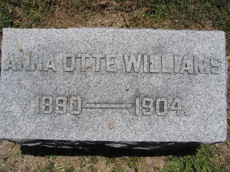 WILLIAMS, ANNA OTTE - Union County, Ohio   ANNA OTTE WILLIAMS - Ohio Gravestone Photos