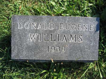 WILLIAMS, DONALD EUGENE - Union County, Ohio | DONALD EUGENE WILLIAMS - Ohio Gravestone Photos