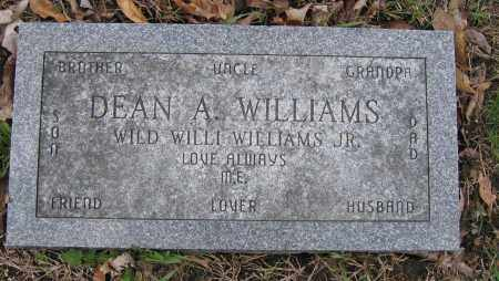 WILLIAMS, DEAN A. - Union County, Ohio   DEAN A. WILLIAMS - Ohio Gravestone Photos
