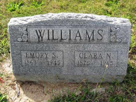 WILLIAMS, EMORY S. - Union County, Ohio | EMORY S. WILLIAMS - Ohio Gravestone Photos