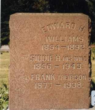 WILLIAMS, FRANK P. - Union County, Ohio | FRANK P. WILLIAMS - Ohio Gravestone Photos