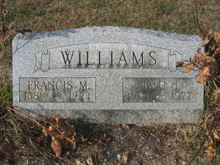 WILLIAMS, FRANCIS M. - Union County, Ohio | FRANCIS M. WILLIAMS - Ohio Gravestone Photos