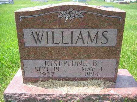 WILLIAMS, JOSEPHINE B. - Union County, Ohio | JOSEPHINE B. WILLIAMS - Ohio Gravestone Photos