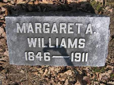 WILLIAMS, MARGARET A. - Union County, Ohio | MARGARET A. WILLIAMS - Ohio Gravestone Photos