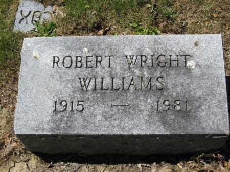 WILLIAMS, ROBERT WRIGHT - Union County, Ohio   ROBERT WRIGHT WILLIAMS - Ohio Gravestone Photos