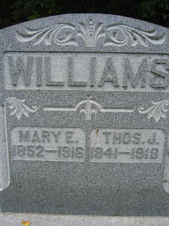 WILLIAMS, MARY E. - Union County, Ohio | MARY E. WILLIAMS - Ohio Gravestone Photos