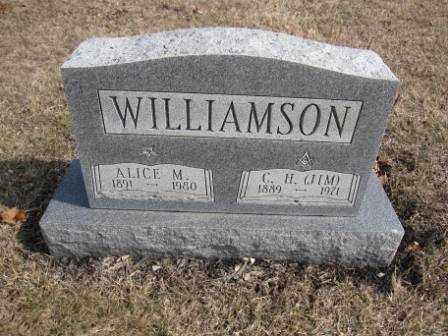 WILLIAMSON, C. H. - Union County, Ohio | C. H. WILLIAMSON - Ohio Gravestone Photos