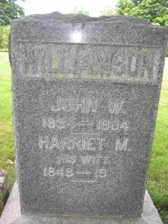WILLIAMSON, HARRIET M. - Union County, Ohio | HARRIET M. WILLIAMSON - Ohio Gravestone Photos