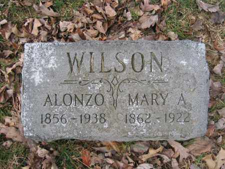 WILSON, MARY A. - Union County, Ohio   MARY A. WILSON - Ohio Gravestone Photos