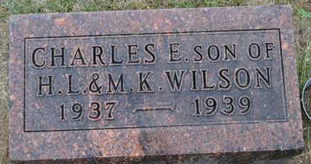 WILSON, CHARLES E. - Union County, Ohio | CHARLES E. WILSON - Ohio Gravestone Photos