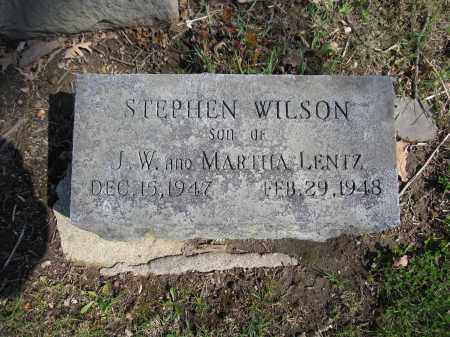 LENTZ, STEPHEN WILSON - Union County, Ohio | STEPHEN WILSON LENTZ - Ohio Gravestone Photos