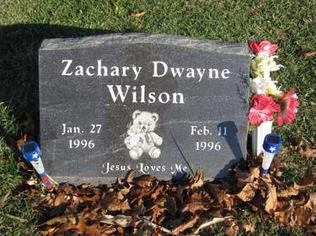 WILSON, ZACHARY DWAYNE - Union County, Ohio | ZACHARY DWAYNE WILSON - Ohio Gravestone Photos