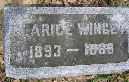 WINGET, CLARICE - Union County, Ohio | CLARICE WINGET - Ohio Gravestone Photos