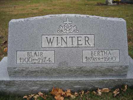 WINTER, BERTHA - Union County, Ohio | BERTHA WINTER - Ohio Gravestone Photos