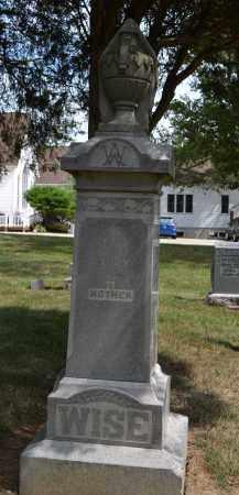 WISE, SARAH - Union County, Ohio   SARAH WISE - Ohio Gravestone Photos