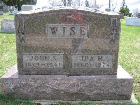 WISE, IDA M. - Union County, Ohio | IDA M. WISE - Ohio Gravestone Photos