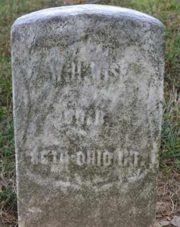 WISE, W.H. - Union County, Ohio | W.H. WISE - Ohio Gravestone Photos